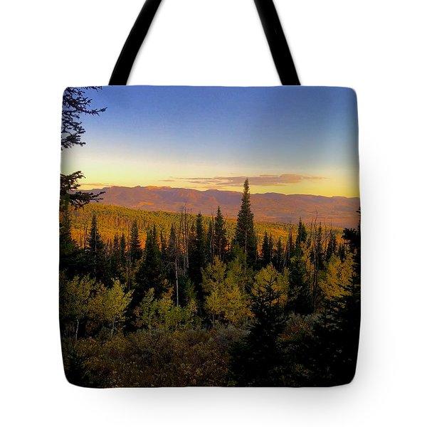 Elk Bluff  Tote Bag
