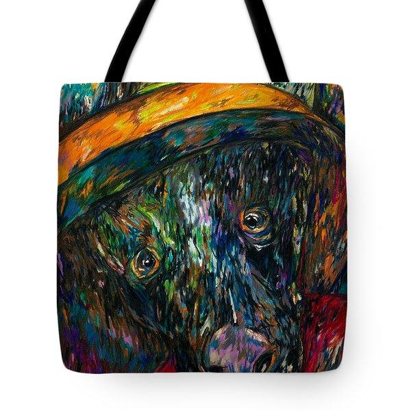 Ellie Begging  Tote Bag
