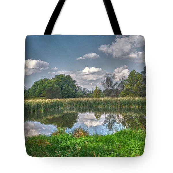Ellis Pond Tote Bag