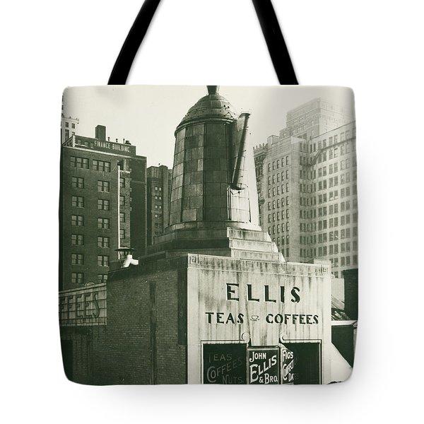 Ellis Tea And Coffee Store, 1945 Tote Bag