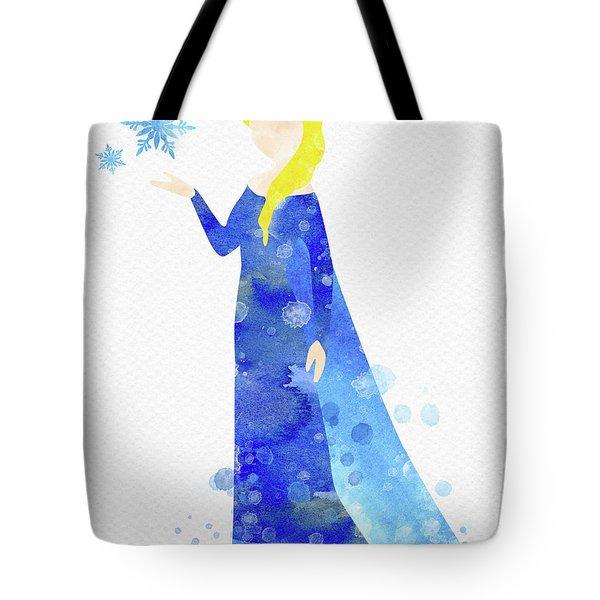 Elsa Watercolor Tote Bag