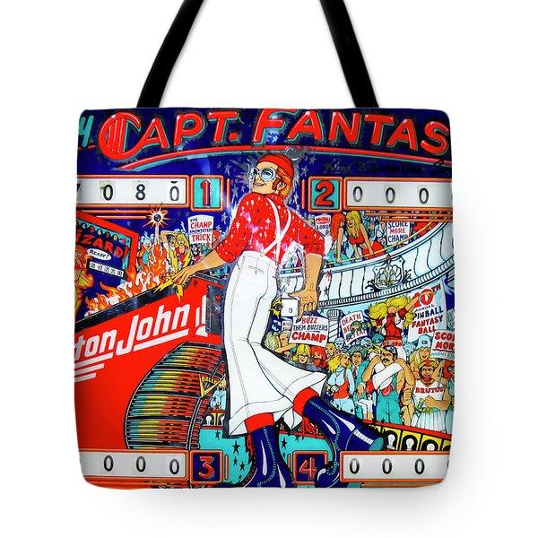 Elton John Pinball Wizard Tote Bag