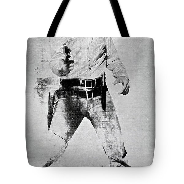 Elvis Presley, Andy Warhol, Silk Screen On Canvas Tote Bag