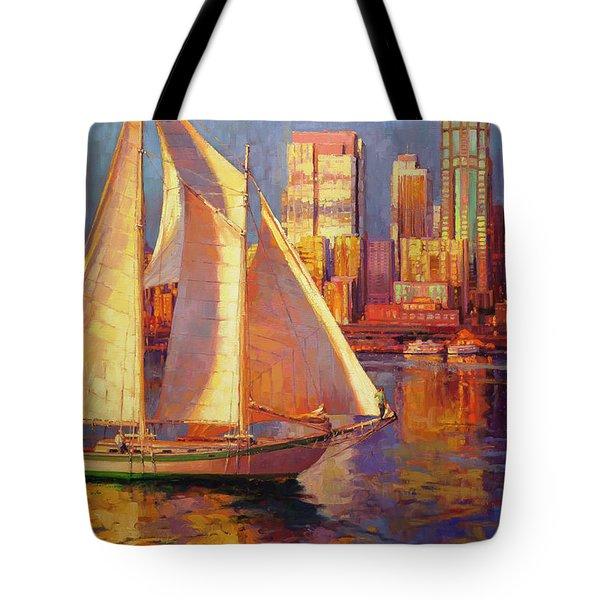 Emerald City Twilight Tote Bag