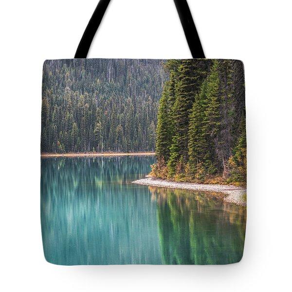 Emerald Lake Portrait Tote Bag