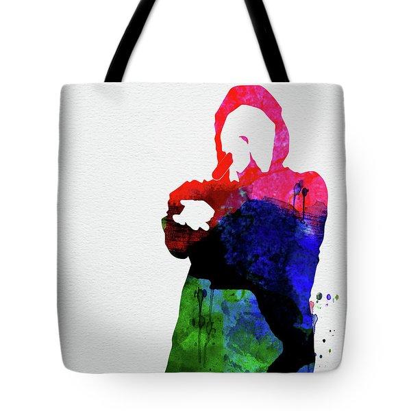 Eminem Watercolor Tote Bag