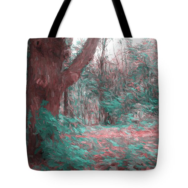 Emmaus Community Park Trail With Large Tree Tote Bag