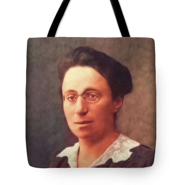 Emmy Noether, Famous Mathamatician Tote Bag