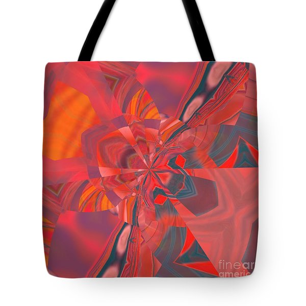 Tote Bag featuring the digital art Emotion by A zakaria Mami