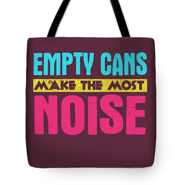 Empty Cans Tote Bag