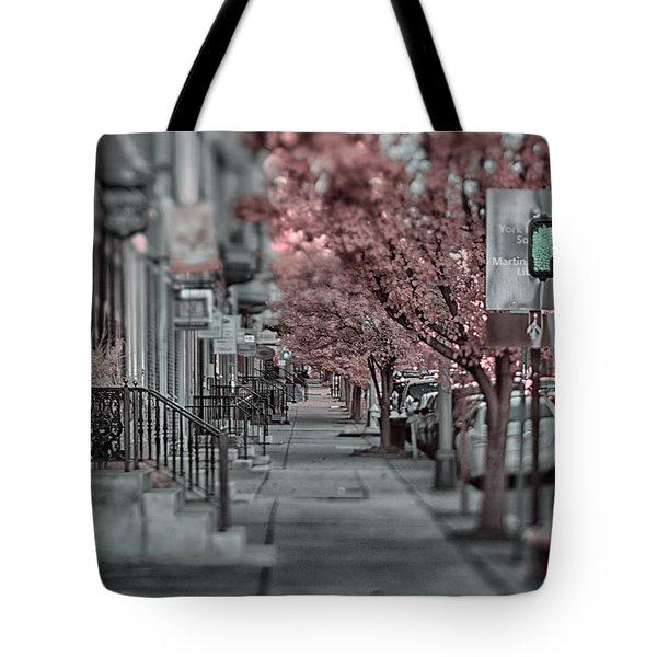 Empty Sidewalk Tote Bag