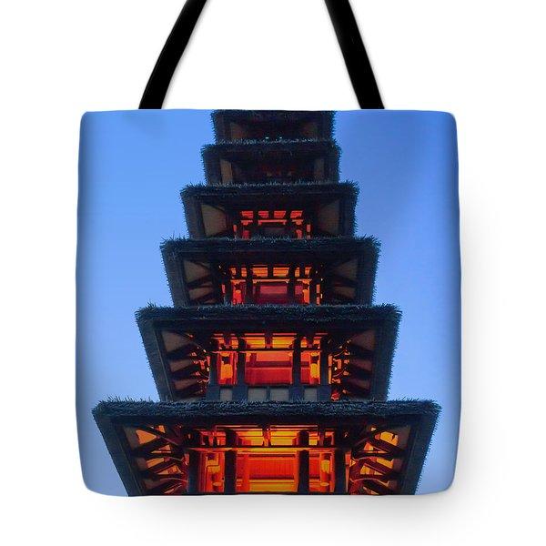 Enchanted Tiki Tote Bag