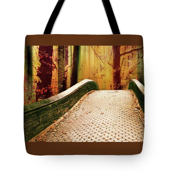 Tote Bag featuring the photograph Enchanted Autumn by Jessica Jenney