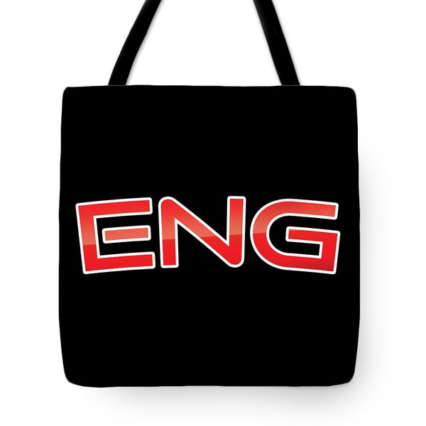 Eng Tote Bag