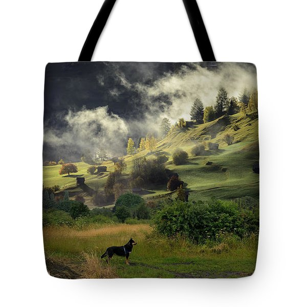 English Courtryside Tote Bag
