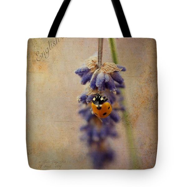 English Lavender Tote Bag