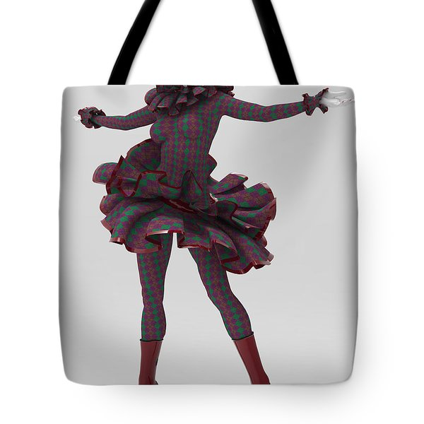 English Pierrette Tote Bag