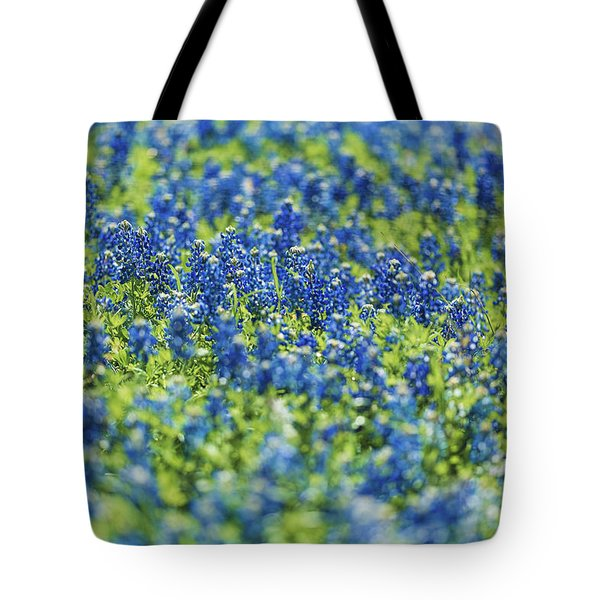 Ennis Bluebonnets Tote Bag