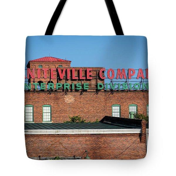 Enterprise Mill - Graniteville Company - Augusta Ga 1 Tote Bag