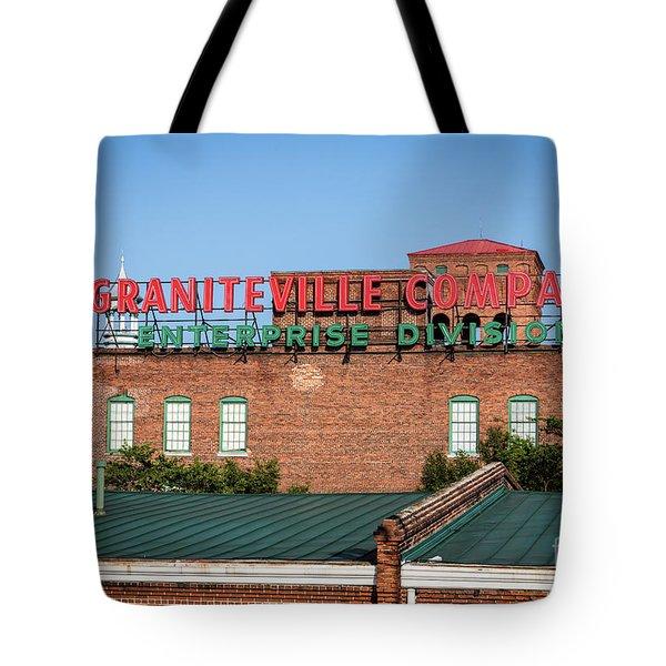 Enterprise Mill - Graniteville Company - Augusta Ga 2 Tote Bag