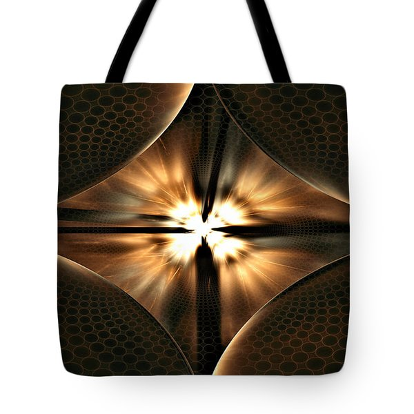 Tote Bag featuring the digital art Ephesians by Missy Gainer