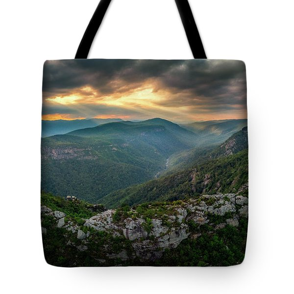 Epic Linville The Chimneys Tote Bag