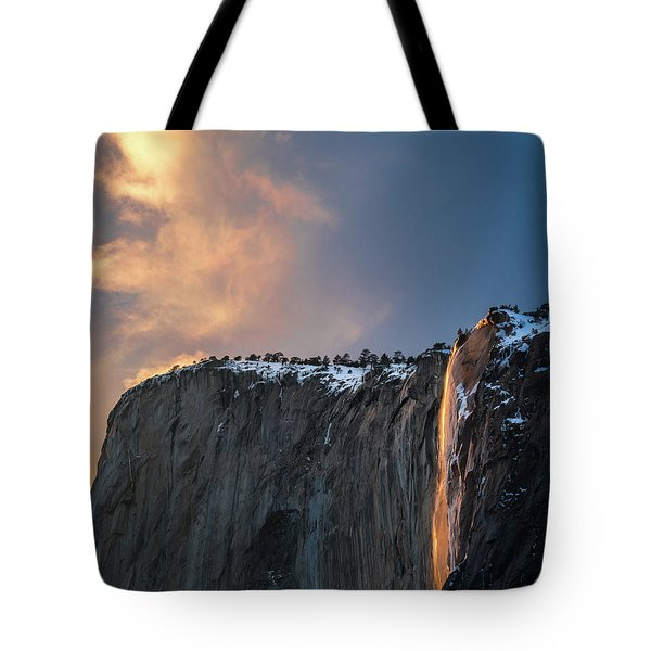 Tote Bag featuring the photograph Epic Sunset by Vincent Bonafede