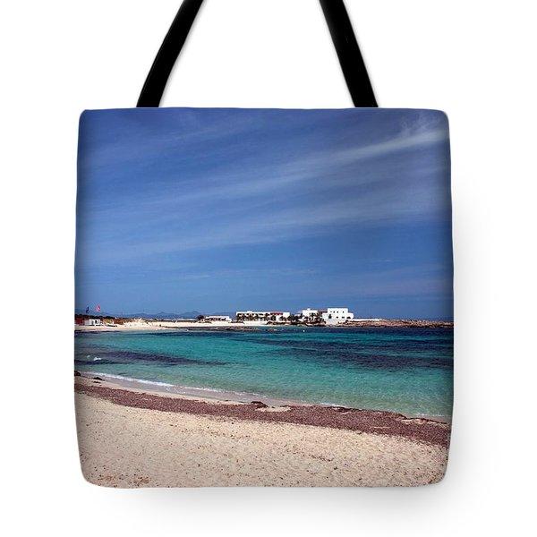 Es Pujols, Formentera Tote Bag