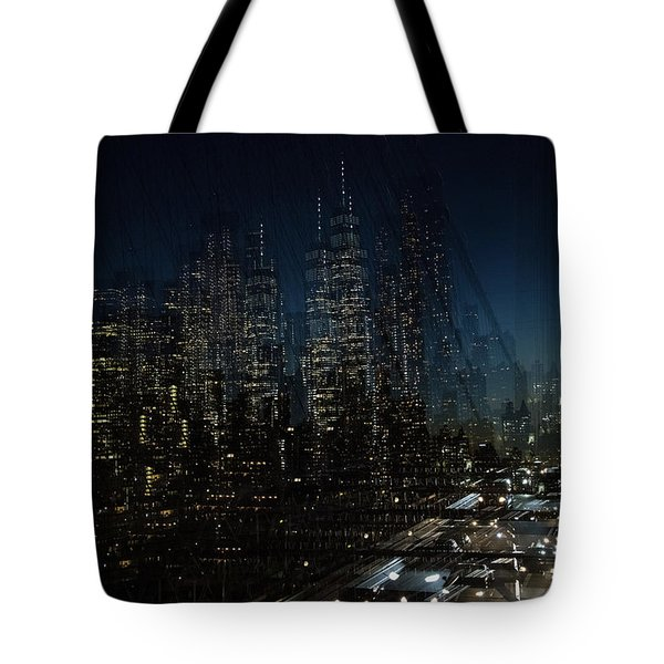 Escape From New York Tote Bag