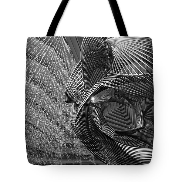 Escher's Summer Cottage Tote Bag