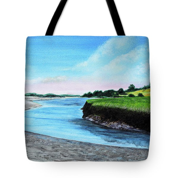 Essex River South Ipswich Tote Bag