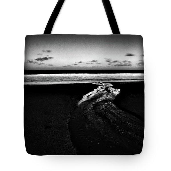 Estuary To The Sea Tote Bag