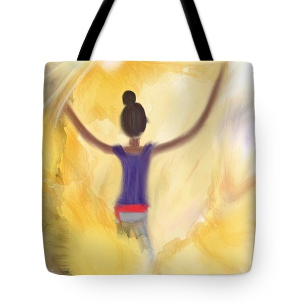 Eternal Presence Tote Bag