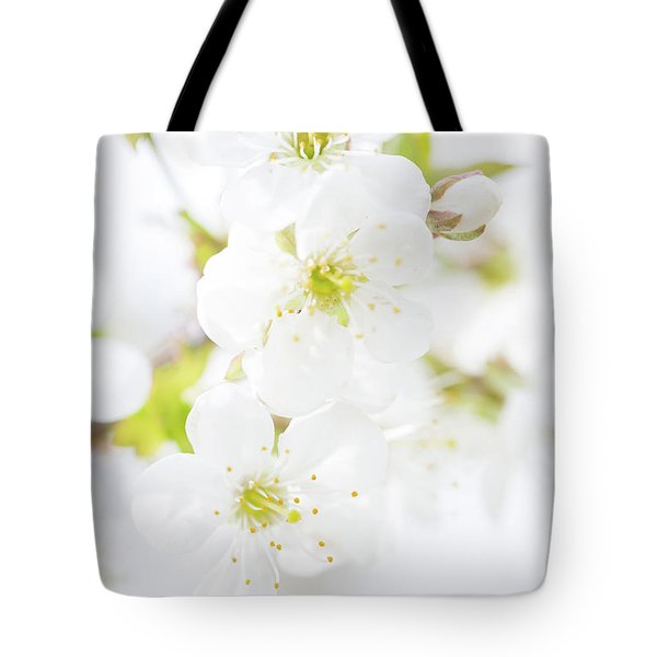 Ethereal Blossoms Tote Bag