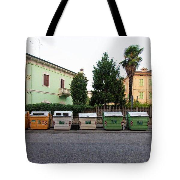 European New Topographics 4 Tote Bag