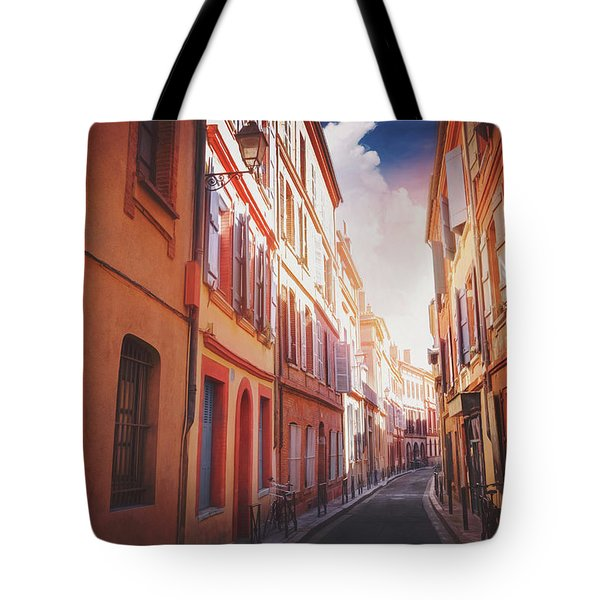 European Street Scenes Toulouse France  Tote Bag