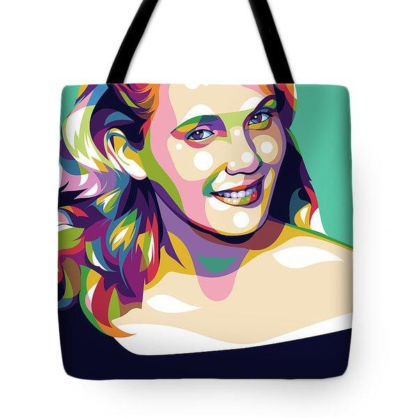 Eva Marie Saint Tote Bag