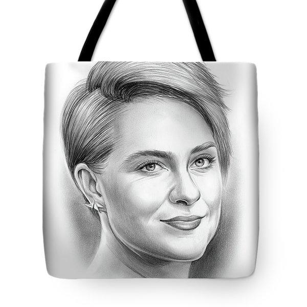 Evan Rachel Wood Tote Bag