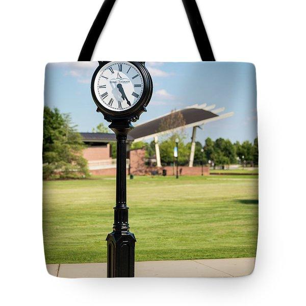 Evans Towne Center Park Clock - Columbia County Ga Tote Bag