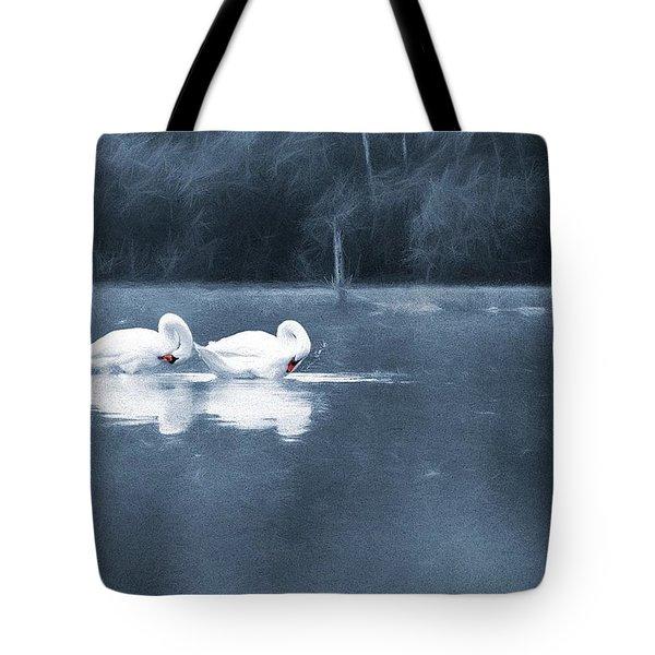 Evening Bath Tote Bag