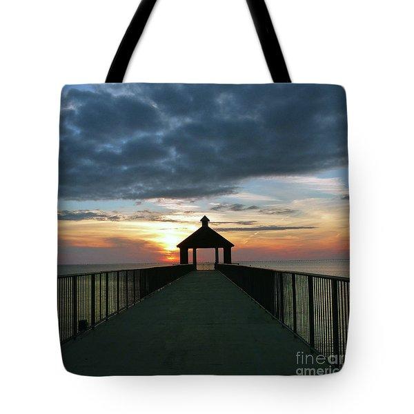 Evening Peace Tote Bag