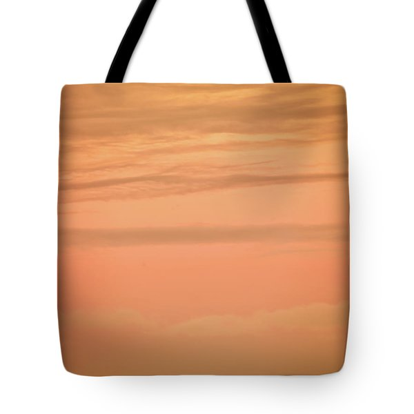 Tote Bag featuring the photograph Evening Sky by Leland D Howard