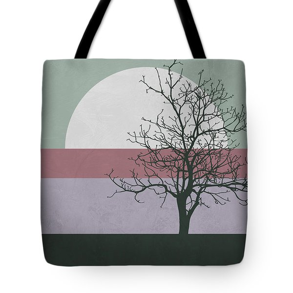 Evening Tree Tote Bag