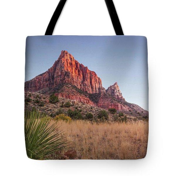 Evening Vista At Zion Tote Bag