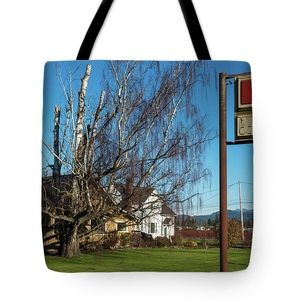 Evergreen Golf Course Tote Bag