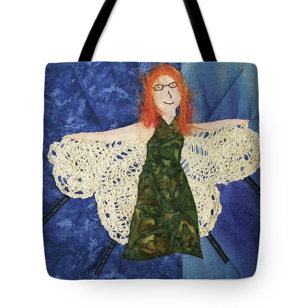 Every Fiber Of Her Being Tote Bag