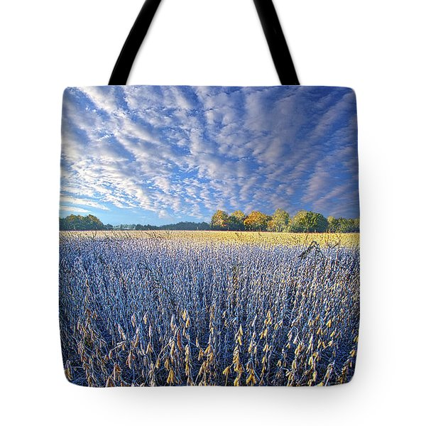 Tote Bag featuring the photograph Every Moment Spent by Phil Koch