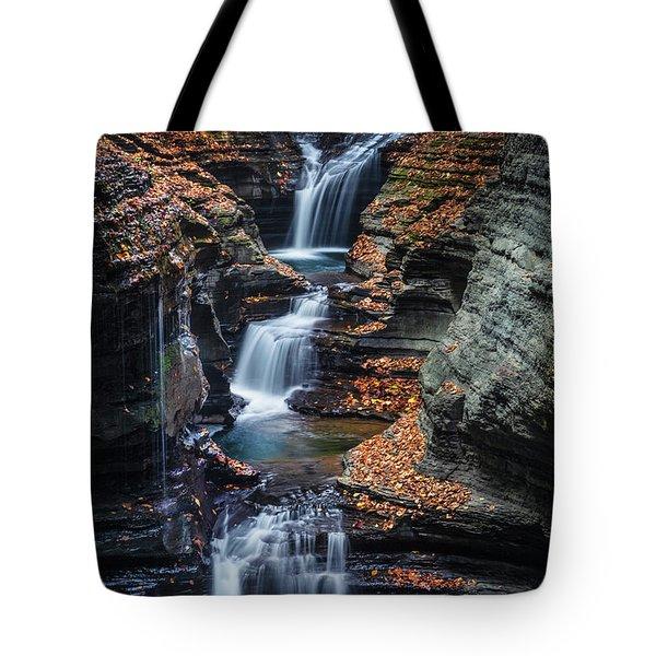 Every Teardrop Is A Waterfall Tote Bag