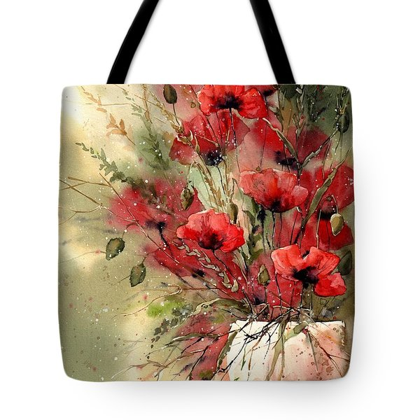 Everything About Poppies I Tote Bag