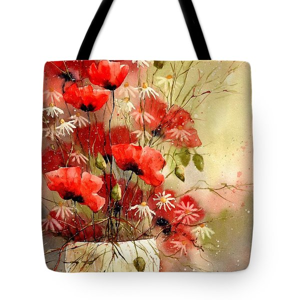 Everything About Poppies IIi Tote Bag